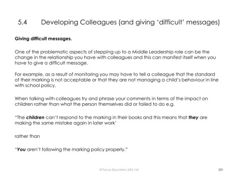 Page 104 - Middle Leaders Toolkit