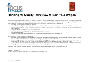 Page 2 microsoft word how to train your dragon planning for quality texts how to train your dragon these documents are intended to support the planning of effective literacy units based on high quality ccuart Images