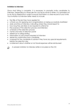 Page 28 - Recruitment and Selection Handbook