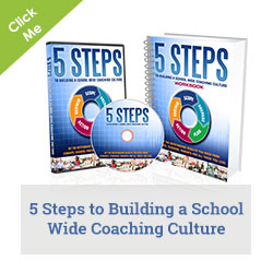5 Steps to building a school wide coaching culture book