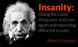Einstein Quote Differentiation