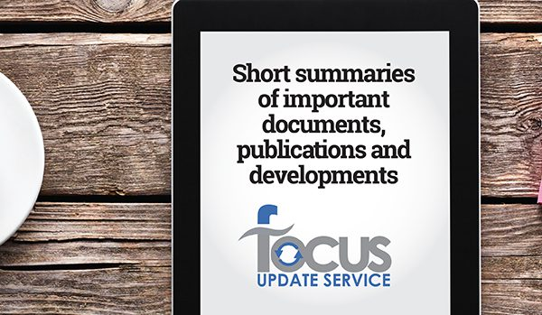 Focus Update service | school leader updates