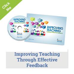 Improving Teaching Through Effective Feedback