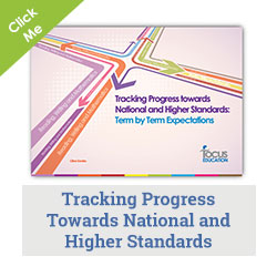 Tracking Progress Towards National and Higher Standards