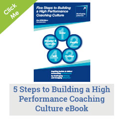 High performance coaching culture