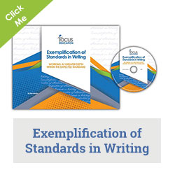 Exemplification of Standards in Writing