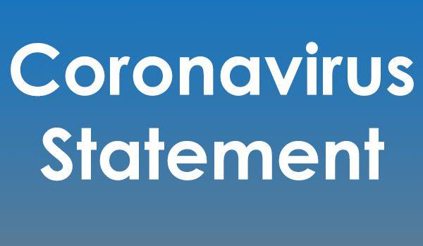 CoronaVirus-Statement