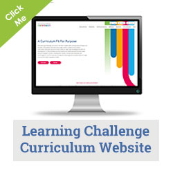 the learning challenge curriculum home display