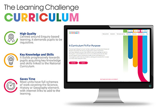Learning Challenge Curriculum Website