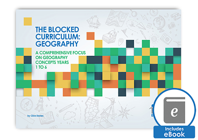 The Blocked Curriculum Geography Book