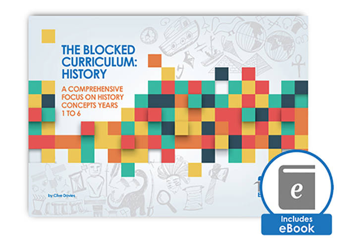 The Blocked Curriculum History Book Image