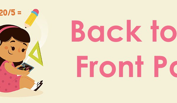 Back to the front page blog image header